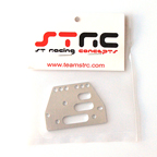 STRC Machined Alum. Adjustable 4 link Front/Rear Plate (Silver) (1pc.) STA30485S