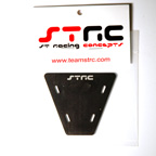STRC Machined Aluminum Electronics Plate For AX-10 (Black)