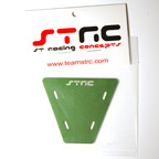 STRC Machined Aluminum Electronics Plate For AX-10 (Green)