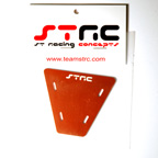STRC Machined Aluminum Electronics Plate For AX-10 (Orange)