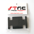 STRC Delrin Center Chassis/Transmission Plate (Black)