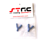 STRC Aluminum Upper Suspension Link Mount (1 Pair - Blue)