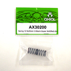 Axial Spring 12.5x20mm 3.6lbs/in-Super Soft (Red) 2Pcs.