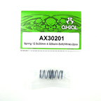 Axial Spring 12.5x20mm 4.32lbs/in-Soft (White) 2Pcs.