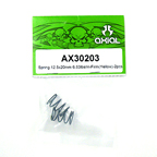 Axial Spring 12.5x20mm 6.53lbs/in-Firm (Yellow) 2Pcs.