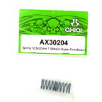 Axial Spring 12.5x20mm 7.59lbs/in-super firm (Blue) 2Pcs.