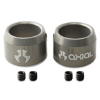 Axial Driveshaft Ring with Set Screws (Grey) (2pcs.) AX30501
