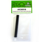 Axial Threaded Aluminum Pipe 6x106mm (Grey) (2pcs.) AX30516