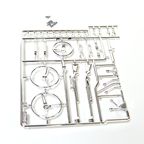 Axial Racing Interior Details Parts Tree - Chrome AX80047