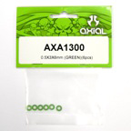0.5x3x6mm (Green) (6pcs.) axa1300