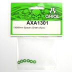 1x3x6mm Spacer (Green) (6pcs.) axa1301