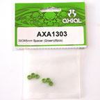 3x3x6mm Spacer (Green)(6pcs.) axa1303