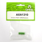 7x10mm Post (Green)(2pcs.) axa1310