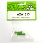 Axial 7x25mm Post (Green)(2pcs) axa1313