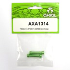 Axial 7x30mm Post (Green)(2pcs) axa1314