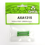 Axial 7x35mm Post (Green)(2pcs) axa1315