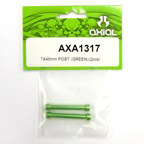 Axial 7x45mm Post (Green)(2pcs) axa1317