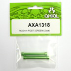 Axial 7x50mm Post (Green)(2pcs) axa1318
