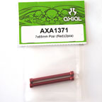 Axial 7x65mm Post (Red)(2pcs) AXA1371