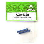 Axial 7x35mm Post (Blue)(2pcs) axa1378