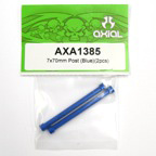 Axial 7x70mm Post (Blue)(2pcs) axa1385