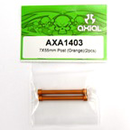 Axial 7x55mm Post (Orange)(2pcs) axa1403