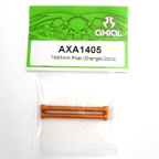 Axial 7x65mm Post (Orange)(2pcs) axa1405