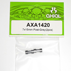 Axial 7x15mm Post (Grey) (2pcs) axa1420