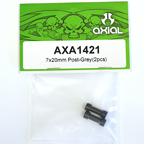 Axial 7x20mm Post (Grey) (2pcs.) AXA1421