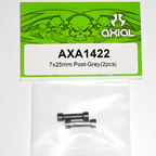 Axial 7x25mm Post (Grey) (2pcs) axa1422