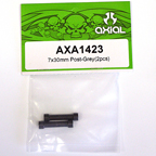 Axial 7x30mm Post (Grey) (2pcs) axa1423
