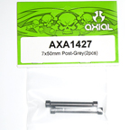 Axial 7x50mm Post (Grey) (2pcs) axa1427