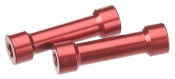 Axial 7X25MM POST - RED(2PCS) AXA1363