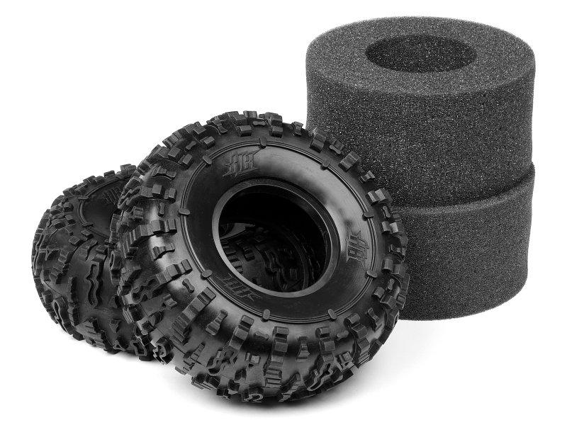 Rover Tire (White/Soft) (1 pair)