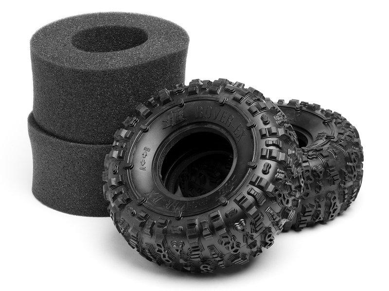 Rover-EX Tire (Pink/2pcs)
