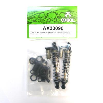 Axial 61-90 Aluminum Shock set -7mm piston (2pcs)