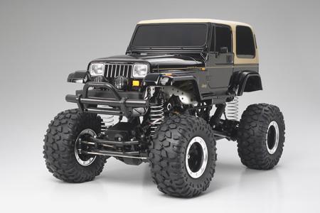 Tamiya RC Jeep Wrangler - CR01 Semi Assembled Model