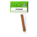 Axial Racing Threaded Aluminum Pipe 6x98mm (Orange) (2pcs.) AX30448
